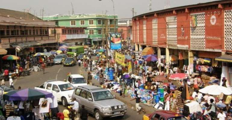 CBD traders to be relocated to Adjen Kotoku on February 28