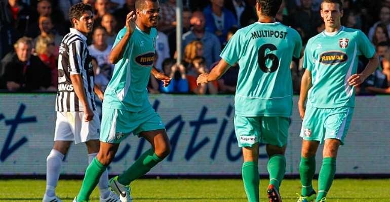 Winger Erixon Danso scored twice for FC Dordrecht on Saturday