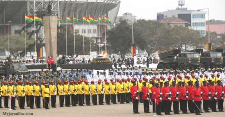 Cadet corps in schools commended
