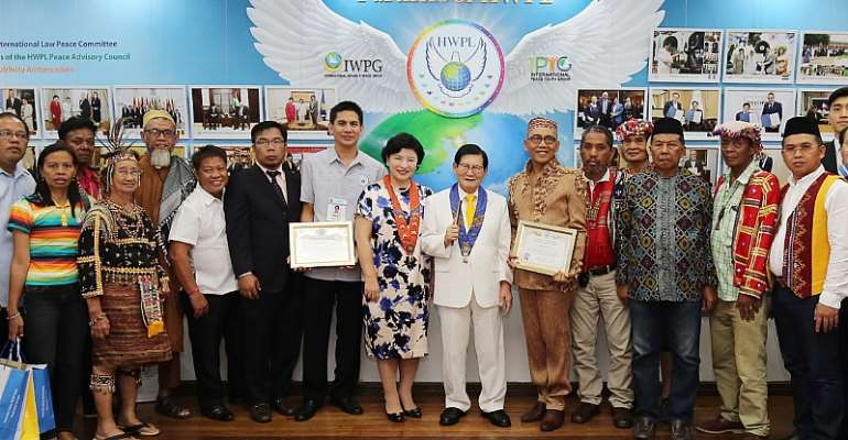 HWPL Peace Exhibition in Davao City Public Library And Museum