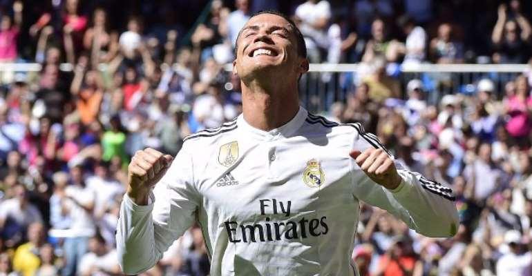 36 goals in La Liga: Ronaldo scores five as Real destroy Granada