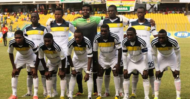 Team Ashanti gold S.C ©Christian Thompson/BackpagePix