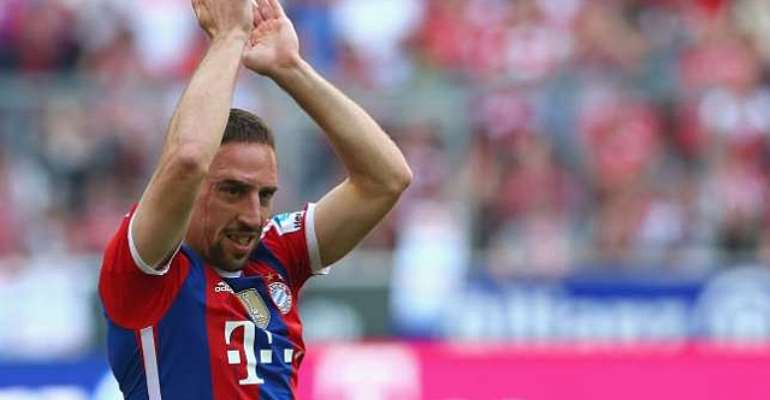 Back problems gone: Bayern Munich winger Franck Ribery returns to training
