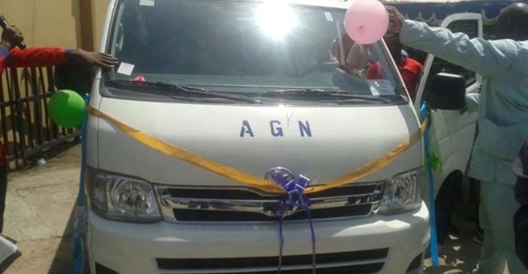 Presidency Gives AGN Brand New Bus