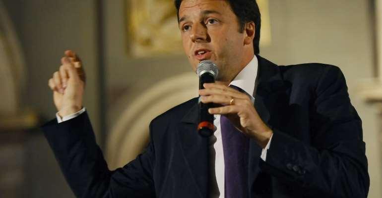 Italian Prime minister Matteo Renzi