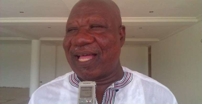 Bernard Allotey Jacobs, Central regional chairman of the NDC
