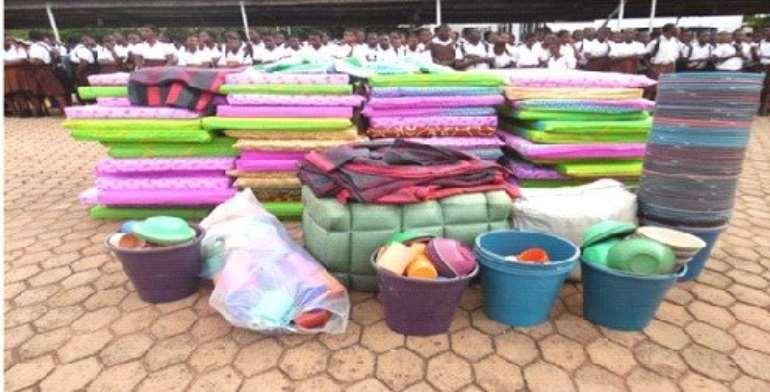 NADMO donates to Okuapemman School