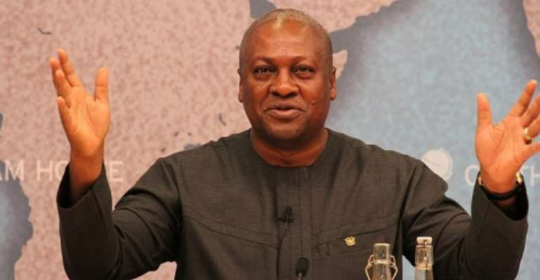 There Is Fire In Mahama's Government, Run, Run, Run…