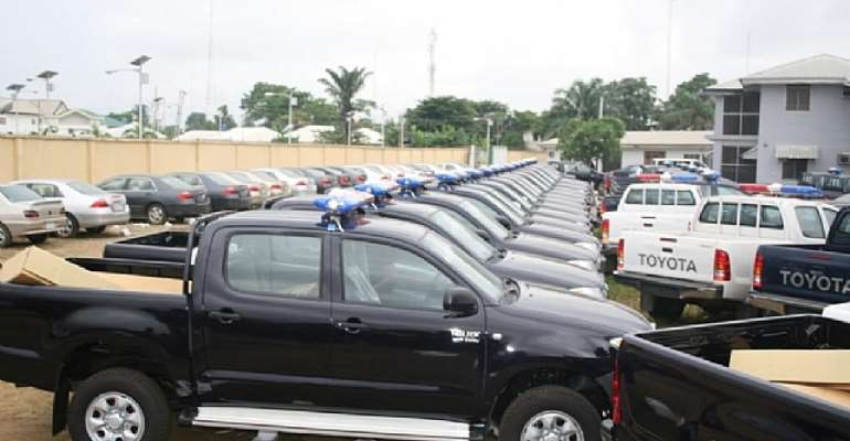 Customs Impound 183 Vehicles