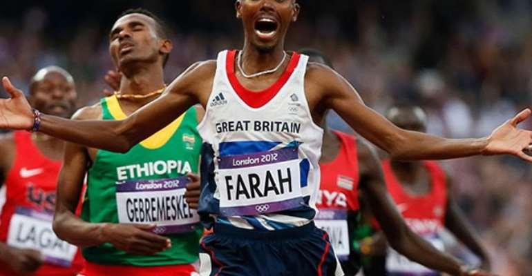 Farah wins 10,000m gold at Worlds
