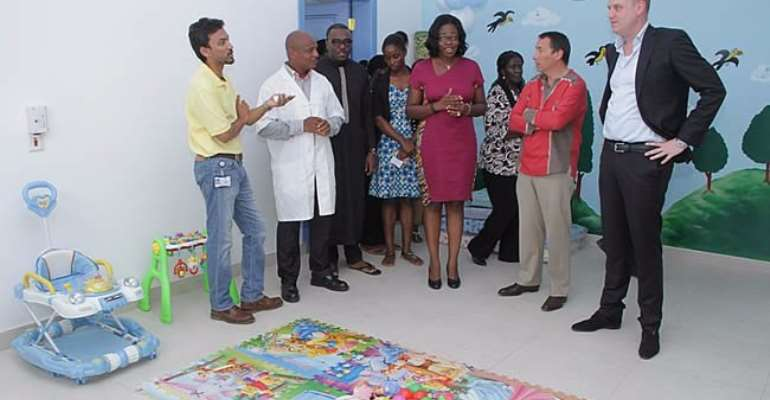 Unilever Ghana launches Childcare Centre for employees