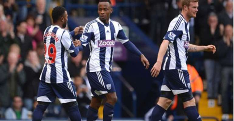 West Brom 1-0 West Ham: Berahino boosts survival hopes