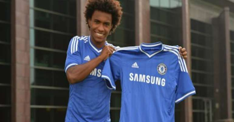 Done deal:Chelsea unveil new signing