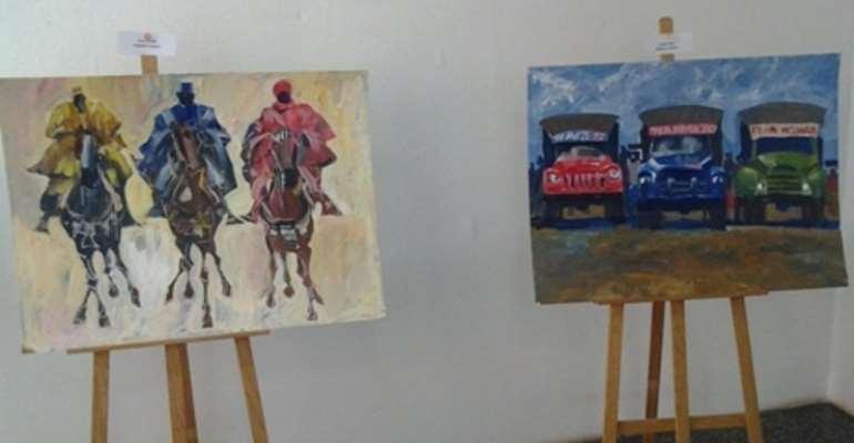 Arts exhibition opens in Accra