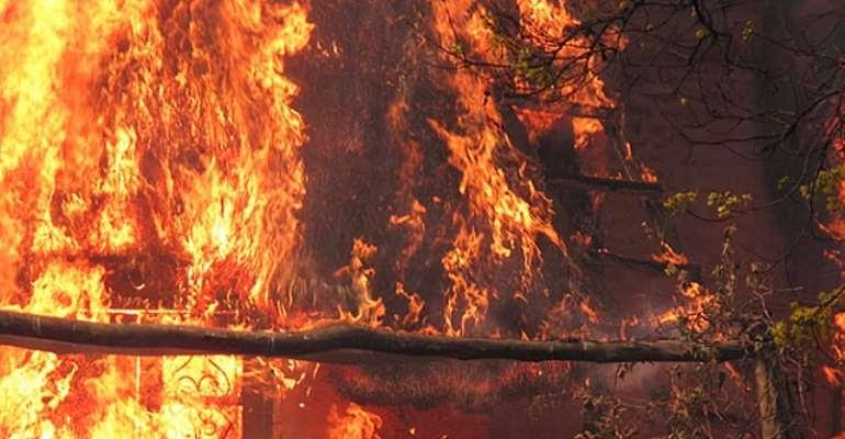 houses burnt