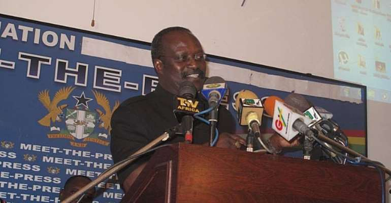 Mr Kwesi Ahwoi