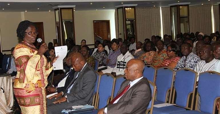 Professor Naana Jane Opoku Agyemang Workshop