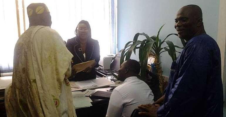 UMCF presents memorandum to Registrar General