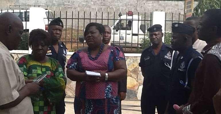 Nana Oye Lithur at Aburi