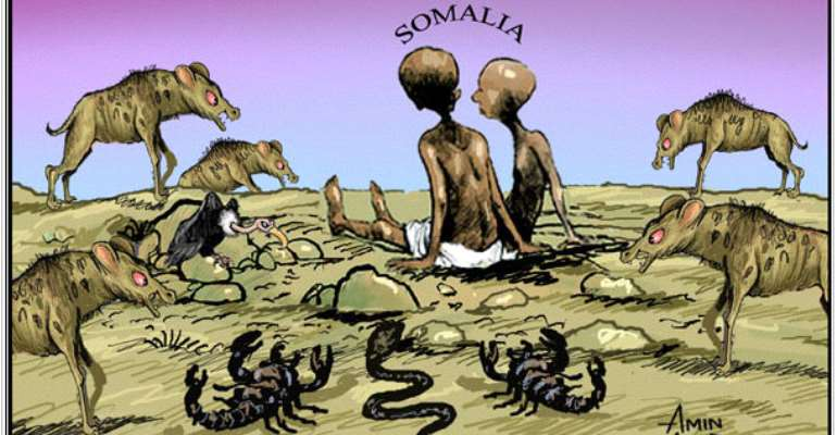Bombing The Starving For Target Practice In Somalia