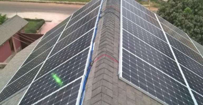 $700,000 solar project to reduce Ghana's power challenges