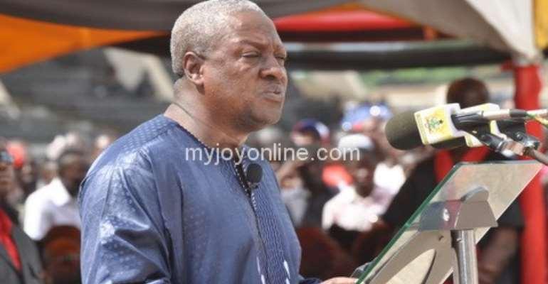 Demand accountability from me - President tells Ghanaians