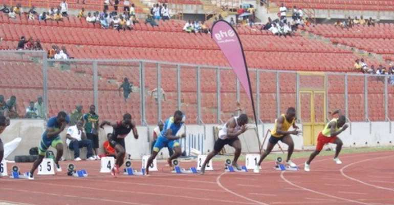 The event also served as warm up for athletes ahead of the London 2012 Olympics