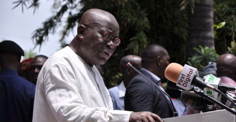 Prez. Akuffo Addo Prioritise Our Roads