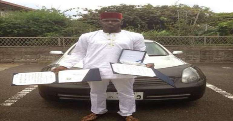 Nigerian Student Breaks A 50-Year Record In Japan