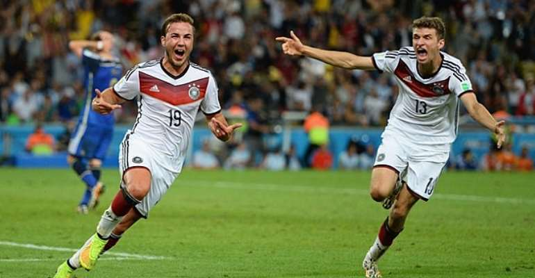 Germany beat Argentina 1-0 to win 2014 FIFA World Cup