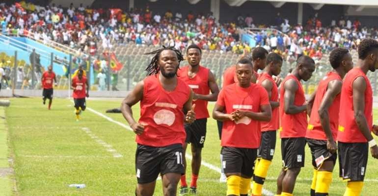 Yahaya Mohammed and Boakye miss BYC-Kotoko clash
