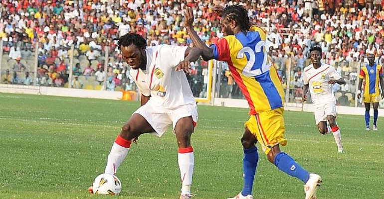 Yahaya Mohammed was mobbed by Kotoko fans