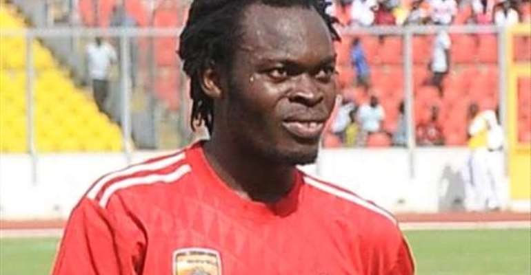 Yahaya Mohammed did not travel with the team for Sunday's match