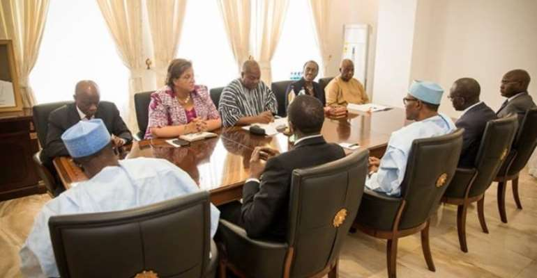 Mahama-Buhari talks: Joint Ghana-Nigeria Commission to be revived