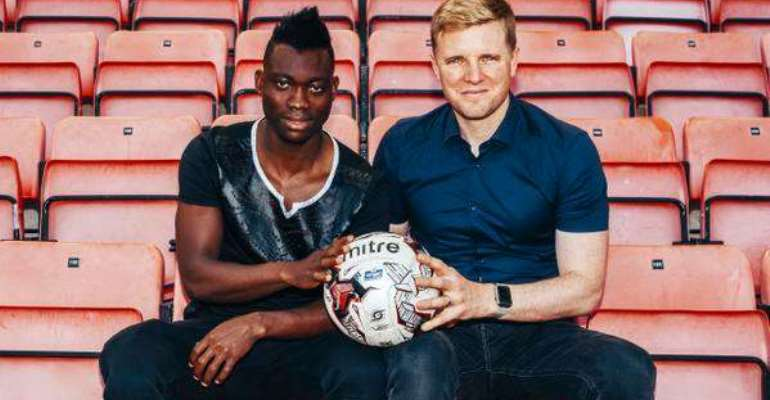 Speedster: Bournemouth counting on Atsu pace