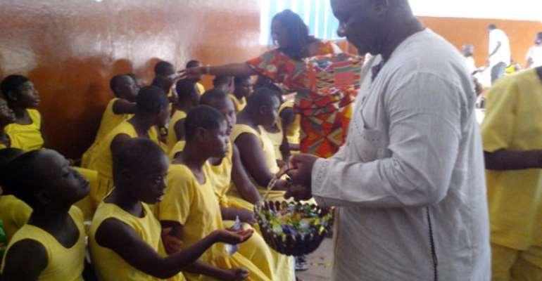 NPP's Addae-Nimo celebrates birthday with Dzorwulu Special School kids