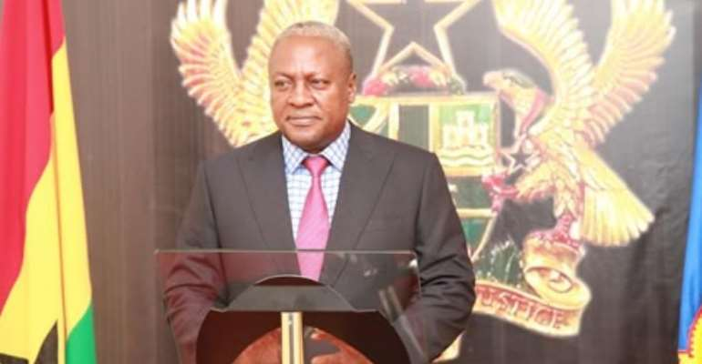 The State Of The Nation Address By President John Dramani Mahama, 2015
