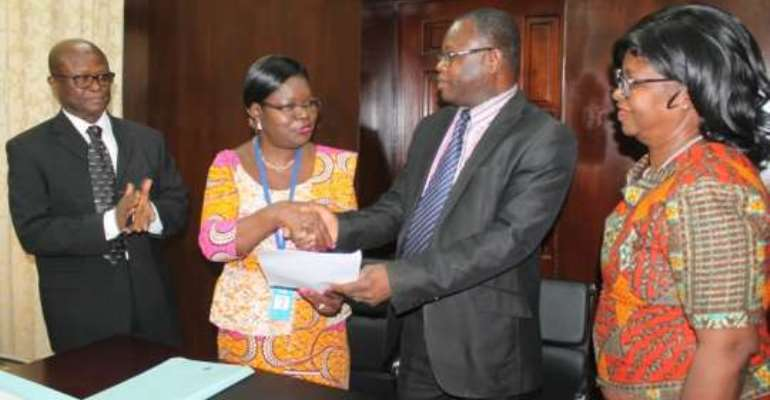 Accra Polytechnic signs MOU with GSS