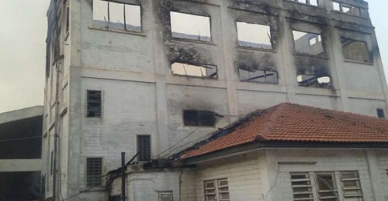 Update: Old Parliament House razed down by fire