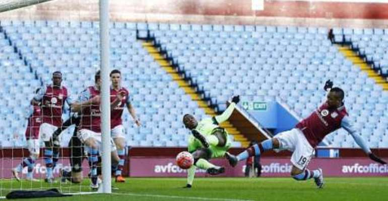 FA Cup: Jordan Ayew's Aston Villa knocked out by Manchester City
