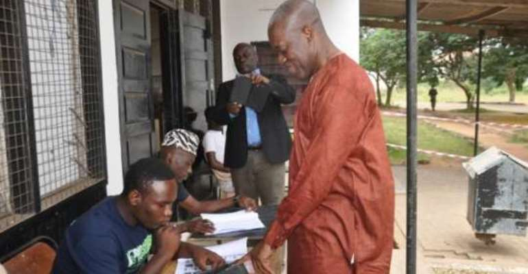 Voting in district elections is a civic responsibility - Veep