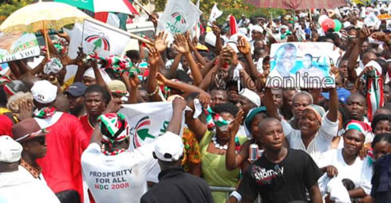 It Is The Whole NDC On The Ballot Come December 7