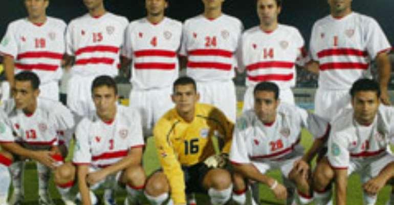 Zamalek progressed with a 5-2 aggregate win over Burundi's Vital'O