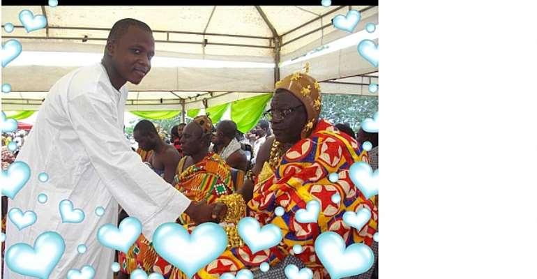 Congratulations Daasebre Kwebu Ewusi VII As ECG Board Member