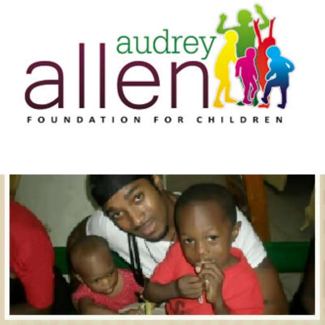 BRYAN TAKES CHARITY TO SOUTH AFRICA WITH AUDREY ALLEN FOUNDATION FOR CHILDREN,GHANA IS THE NEXT STOP.