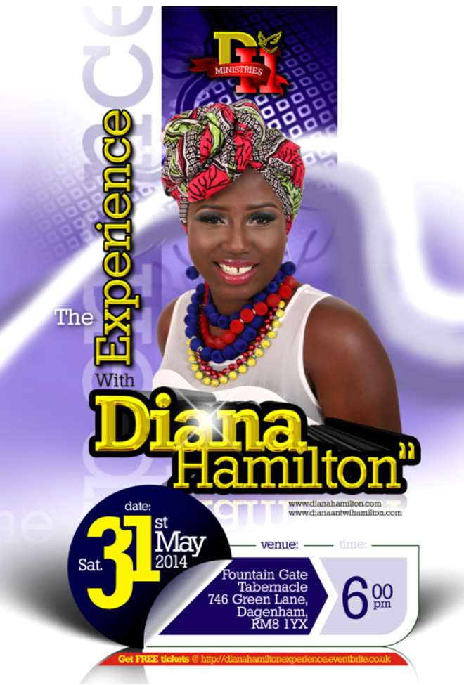 Diana Hamilton Launches Year of Activities with Free Concert