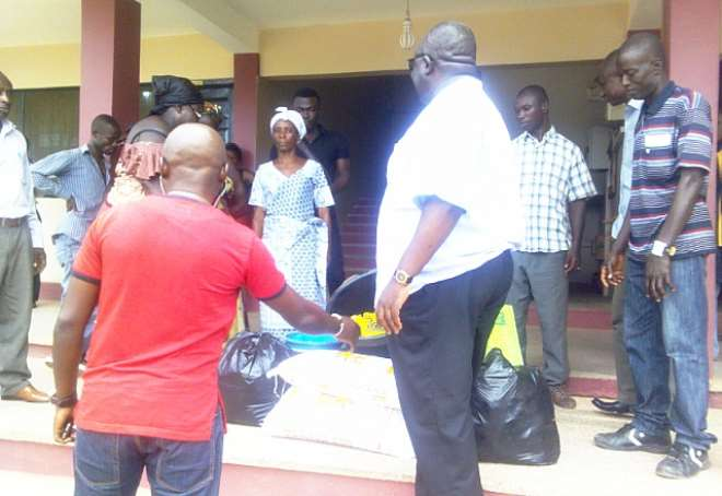 Ejisu Juaben Assembly Supports Fire Victims