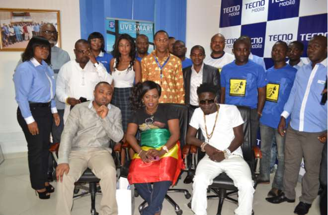 TECNO Supports Ministry Of Youth & Sports 'Ghana To Brazil' Campaign