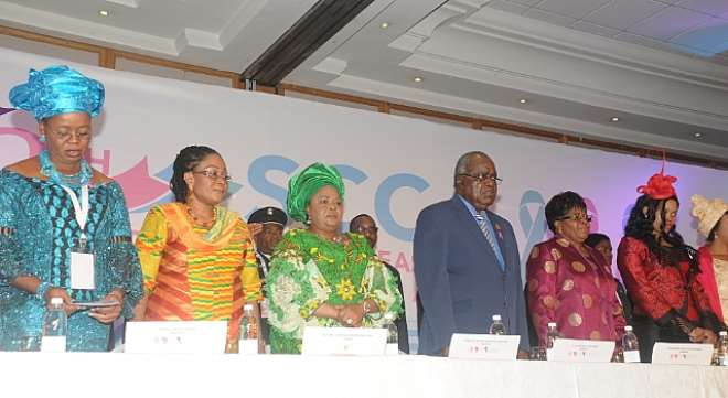 Ghanas First Lady Attends 8TH SCCA CONFAB In Namibia