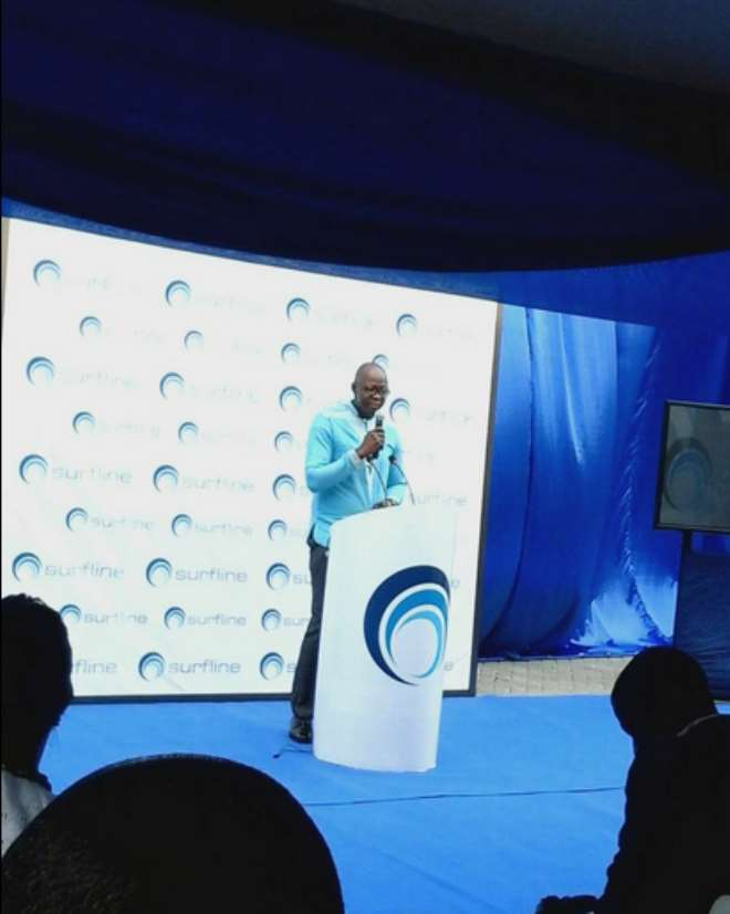 Surfline Launches Fastest Internet Service On Ghana's First 4G LTE Network
